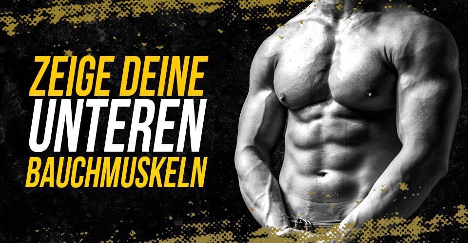 Untere Bauchmuskeln trainieren & freilegen | Zec+