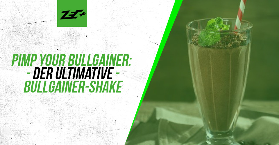 Pimp your Bullgainer: Der ultimative Bullgainer-Shake