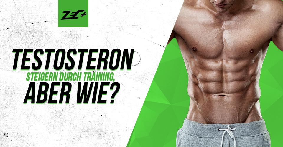 Testosteron steigern durch Training, aber wie?