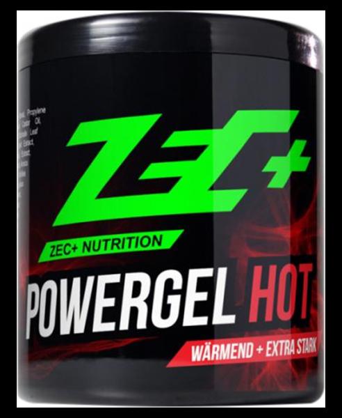 Powergel Hot um Gelenke und Muskeln aufzuwärmen