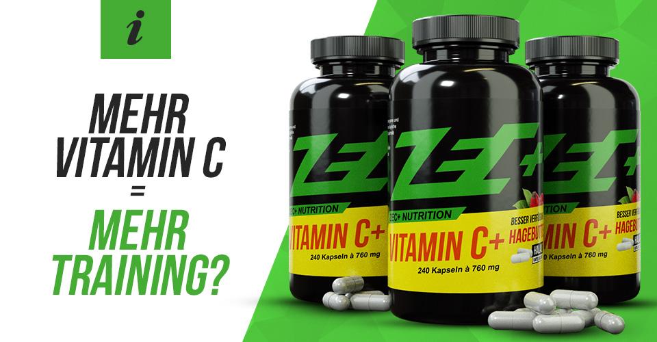 Mehr Vitamin C = mehr Training?