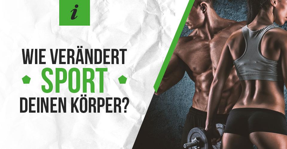 Wie verändert Sport deinen Körper?
