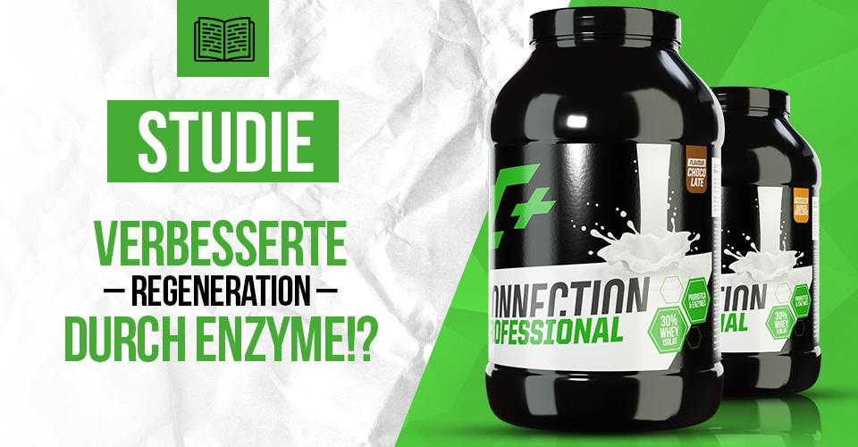 Studie: Verbesserte Regeneration durch Enzyme!?