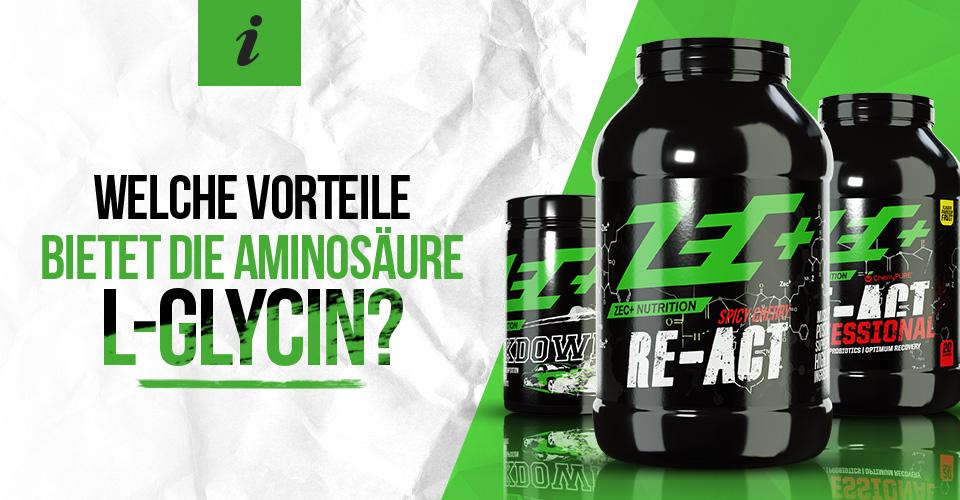 Welche Vorteile bietet die Aminosäure L-Glycin?