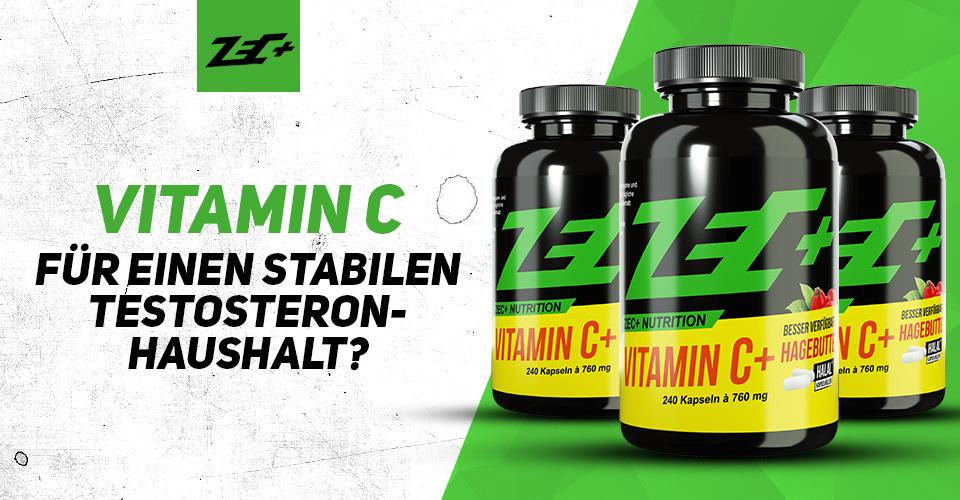 Vitamin C für einen stabilen Testosteron-Haushalt?