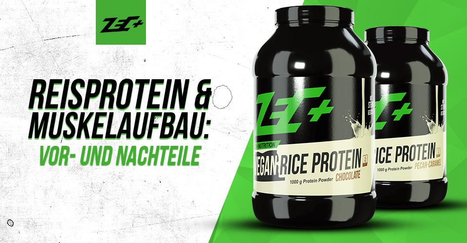 Reisprotein und Muskelaufbau: Vor- und Nachteile