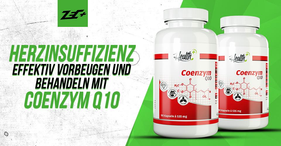 Herzinsuffizienz effektiv vorbeugen und behandeln mit Coenzym Q10