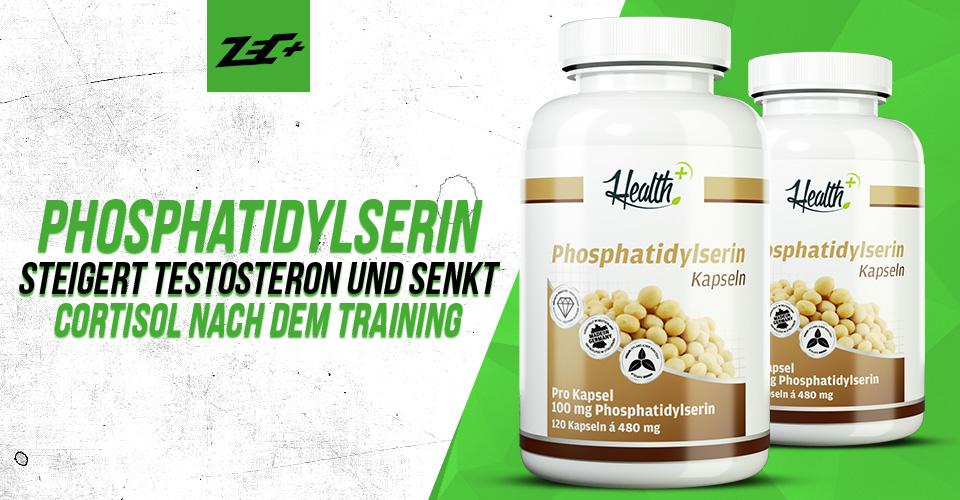 Phosphatidylserin steigert Testosteron und senkt Cortisol nach dem Training