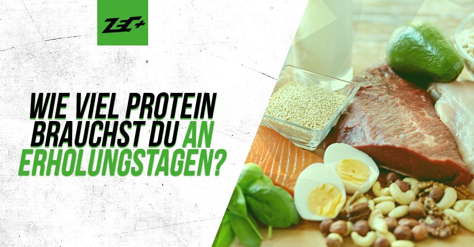 Wie viel Protein brauchst du an Erholungstagen?