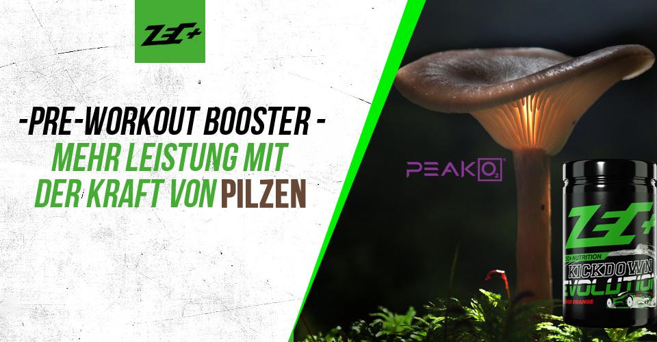 Peak O2 – die Pilzmischung für den Performance-Boost